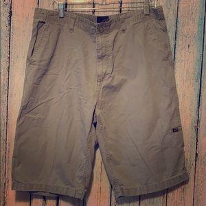 Vans shorts grey ripstop 36 waist